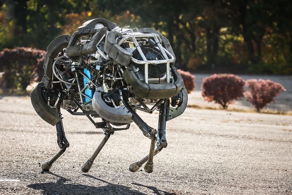 boston dynamics robot