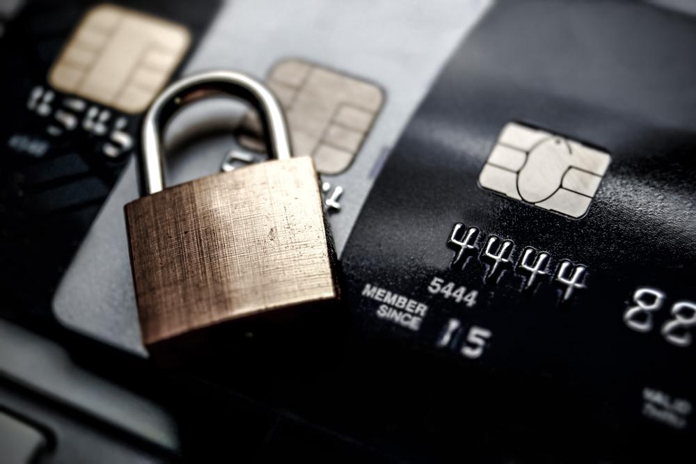 credit card shimmer