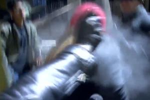 bitcoiner pepper sprayed