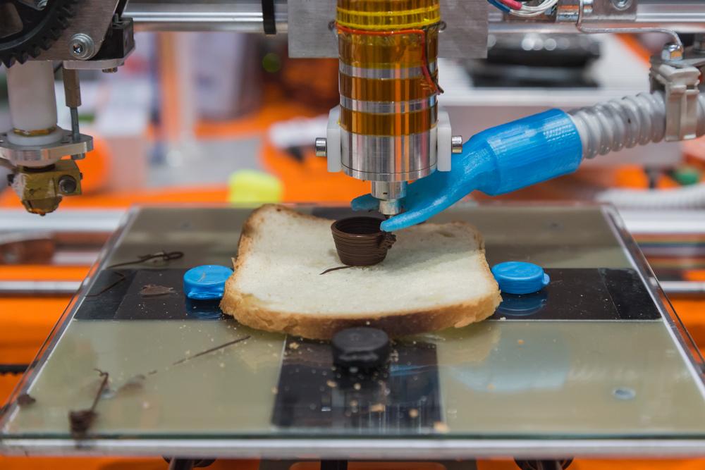TheMerkle 3D Printing Food
