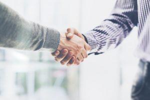 roger ver handshake
