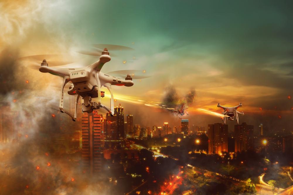 TheMerkle CT Weaponized Drones