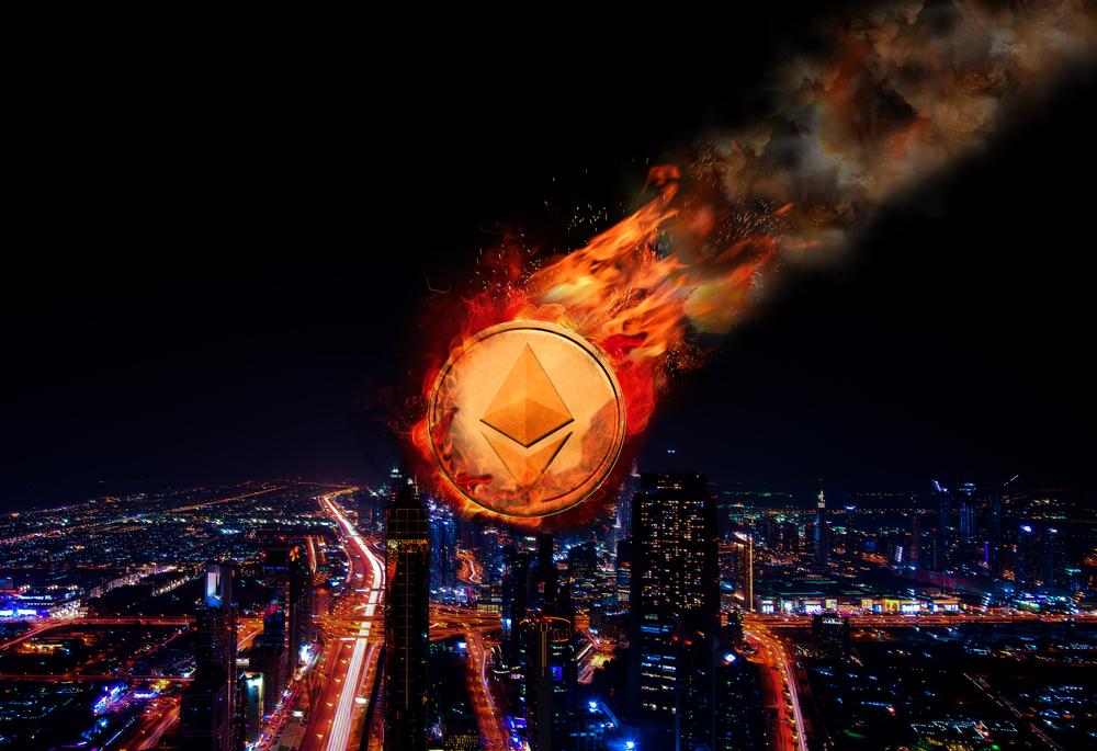 ethereum price drop ico