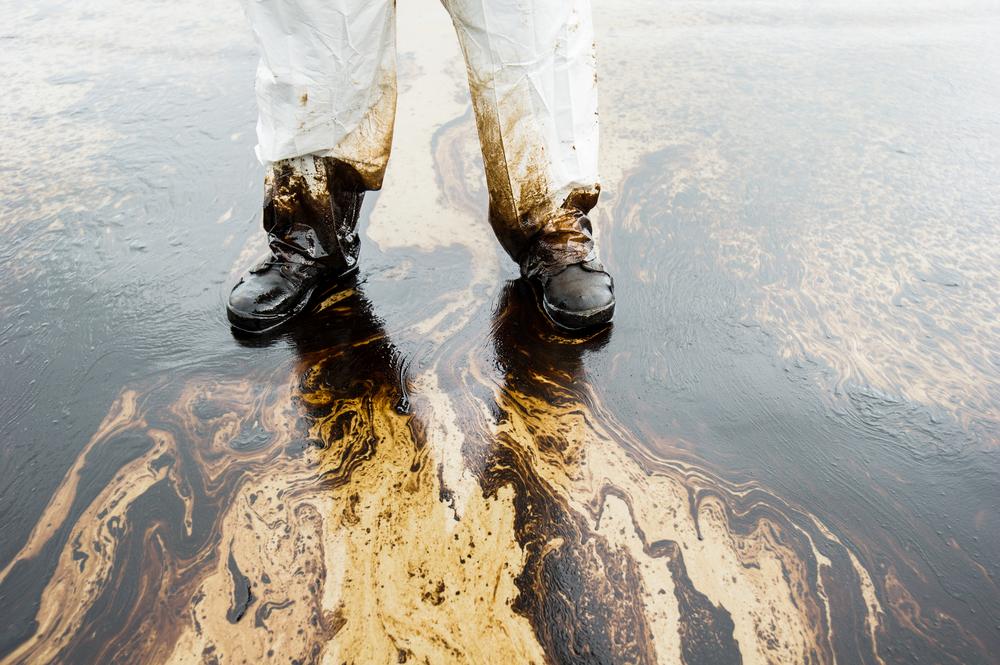 TheMerkle nanoparticles Oil Spill