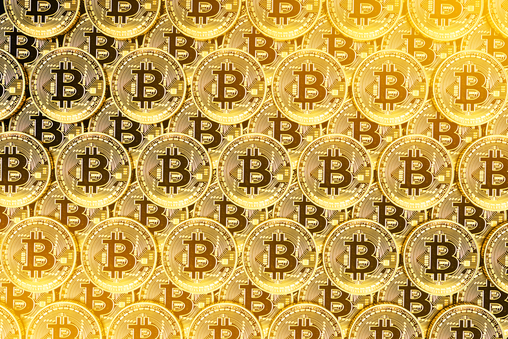 lots of bitcoins
