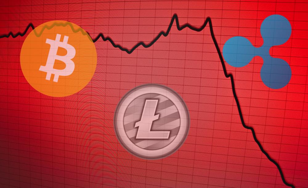 bitcoin xrp litecoin price chart