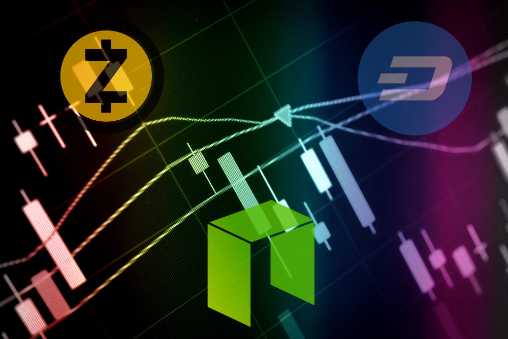 zcash neo dash price analysis
