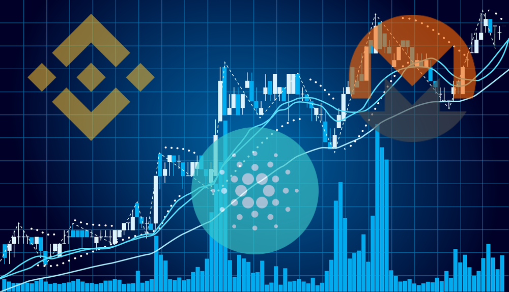 binance coin cardano stellar cryptocurrency
