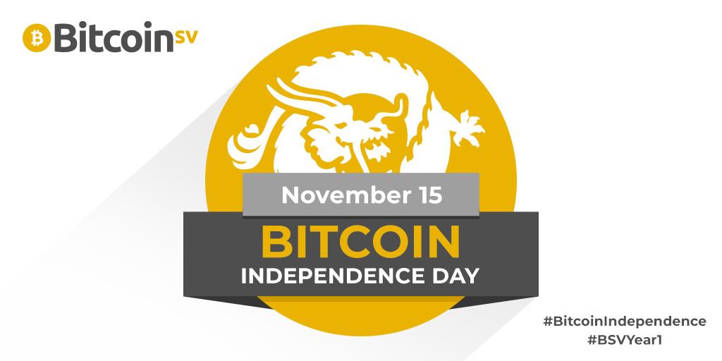 bitcoin indendance day bitcoin sv