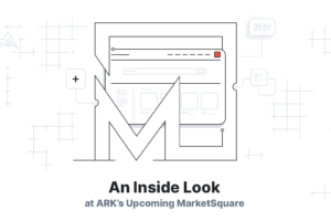 The merkle Ark.io MarketSquare