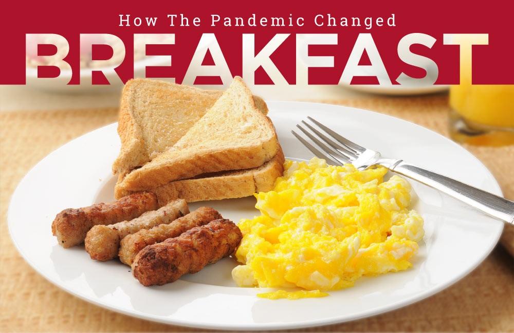 American breakfast habits
