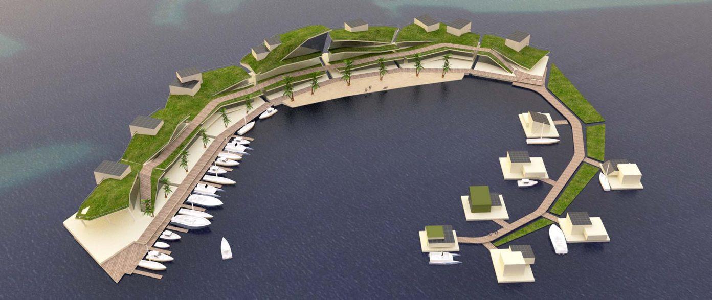 TheMerkle Floating Island Project Vayron
