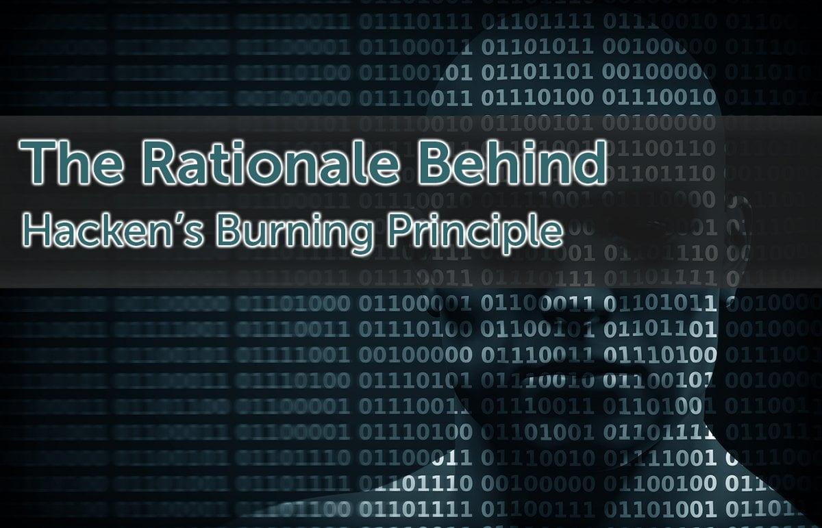 hacken burning principle