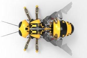 TheMerkle RoboBee Swimming Flying