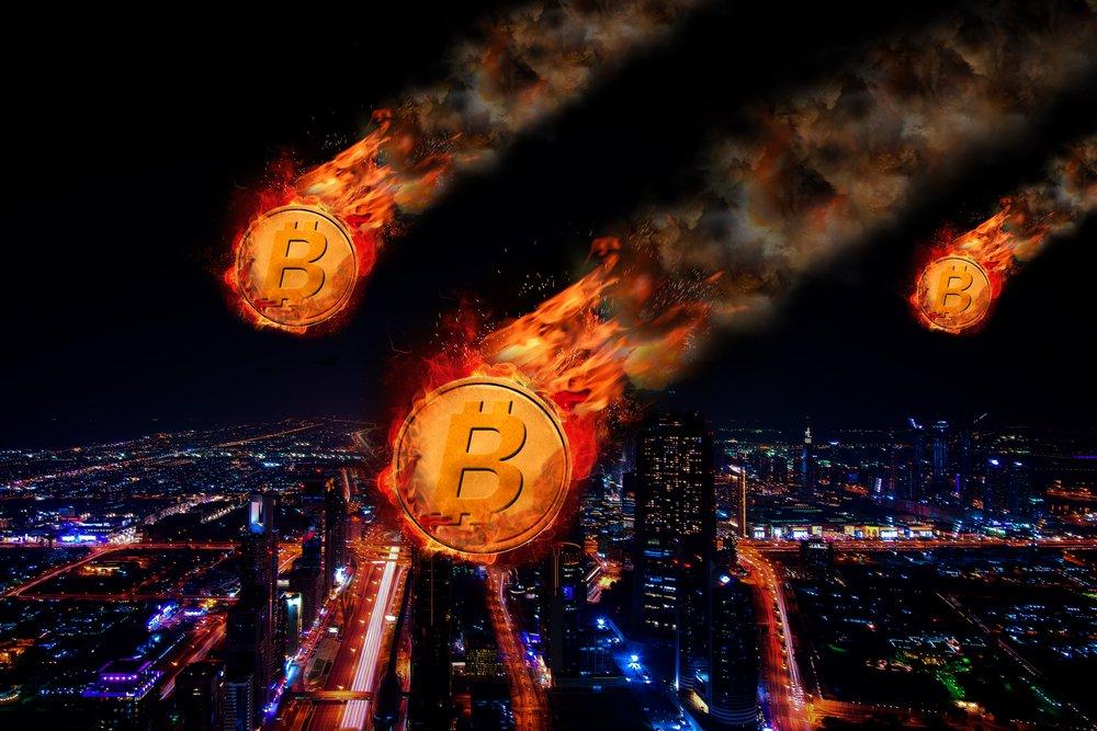 TheMerkle Bitcoin price Drop