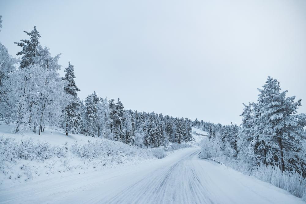 THeMerkle Martti Self-driving Car Snow