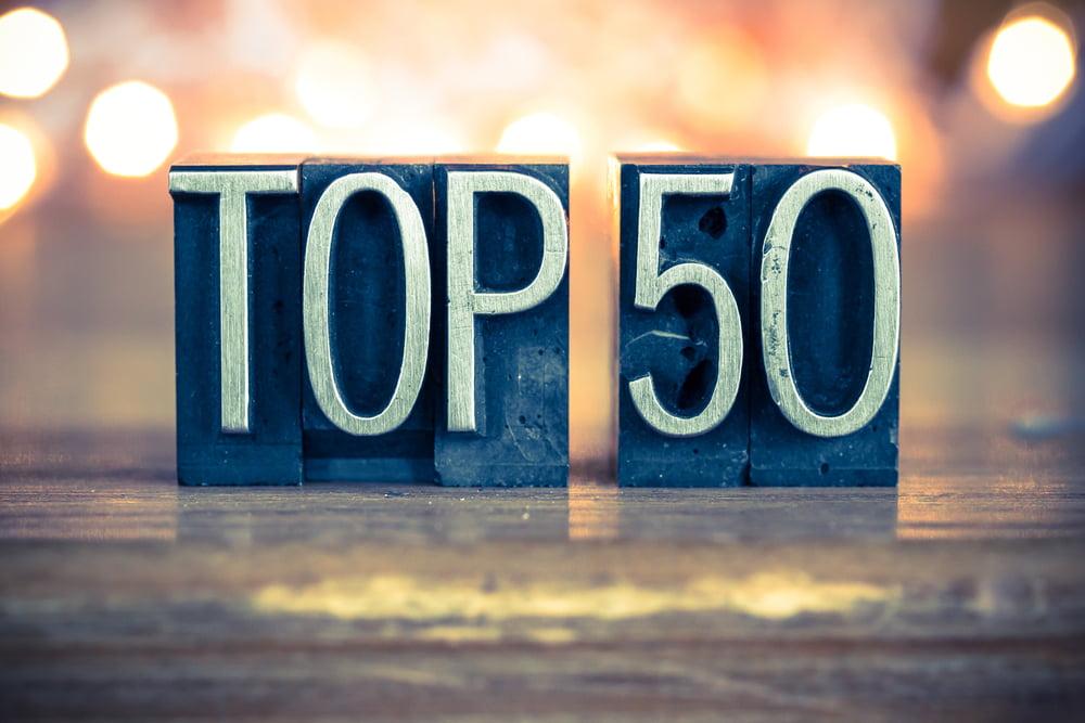 top 50 cryptos